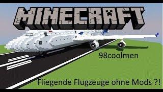 Minecraft Flugzeuge ohne Mods!!! 98coolmen