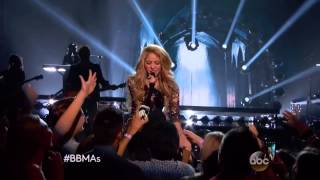 Shakira -  Empire   Live performance 2014 Billboard Music Awards