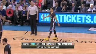 Golden State Warriors vs Oklahoma City Thunder | February 27, 2016 | NBA 2015-16 Season