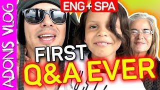 ADONIS FIRST Q&A EVER EVAR!