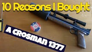 10 Reasons to buy a low cost Crosman 1377 Air Pistol