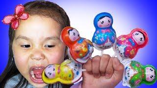 Finger Family of Sweets | Johny Johny Yes Papa | Learning Color