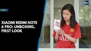 Xiaomi Redmi Note 6 Pro: Unboxing, first look