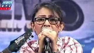 o pagol mon monre mon keno eto kotha bole Bangla Heart Touching Song by Marzia Turin Live 2016240p