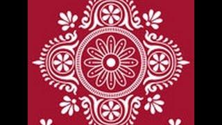 How to draw Alpona bd -আল্পনা-আলপনা আঁকা17design Bangladesh/Bangla year/art/ Bangali/pohela boishakh