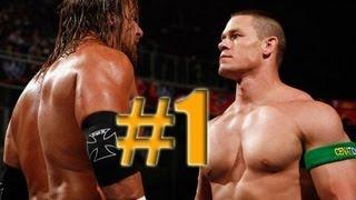 WWE Smackdown vs Raw 2010 JOHN CENA & TRIPLE H PART 1 ROAD TO WRESTLEMANIA