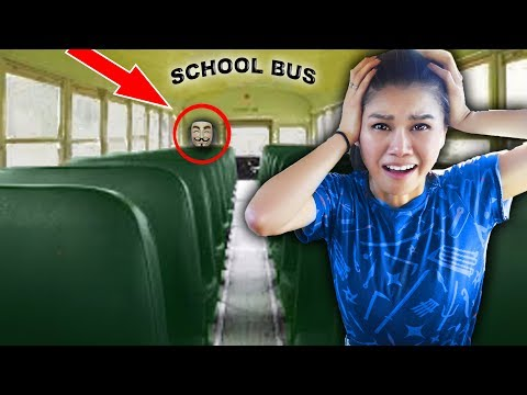 Xxx Mp4 HACKER TRAPPED ME In ABANDONED SCHOOL BUS Escape Room Challenge And Mystery Clues 3gp Sex
