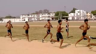 Bareilly boys Indian army 1600 miter race