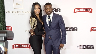 Princess Love and Ray J 2017 Primary Wave Pre-Grammy Event Red Carpet