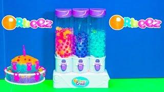 ORBEEZ Crush Sweet Treats Studio Orbeez Cakes Video Toy Unboxing Video