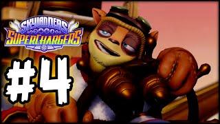 Skylanders SuperChargers - Gameplay Walkthrough - Part 4 - Eon's Sock!