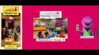 Barney & Friends: Alphabet Soup (1993 VHS)