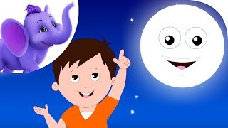 I See The Moon - Nursery Rhyme with Karaoke
