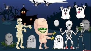 Tumbas por aquí Tumbas por allá - Canciones Infantiles de Halloween
