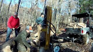Woods HLS27 Log Splitter Must see, real World use!