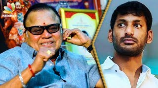 Vishal Distracts the Public with Film Industry Strike : Radha Ravi Interview   Producer Council