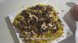 Arabic Lamb Kabsa Recipe - Middle Eastern Arab Machbus Machboos ‎كبسة‎ - مكبوس‎