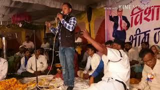 Atar singh johari Live Qawwali...jai bhim bala aage aage badta he bad jayega. Mob. 09753971678