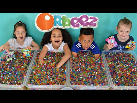 ORBEEZ Challenge #3 | Super Sour Warheads | MLP | Shopkins | LPS Prizes  | Toys AndMe