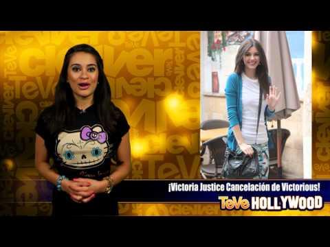 Victoria Justice Cancelación de Victorious