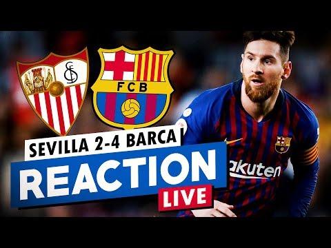 Xxx Mp4 Sevilla 2 4 Barcelona MATCH REACTION Post Match Hang Out BugaLuis 3gp Sex