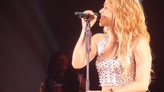 Shakira - Crying + Underneath Your Clothes (Rotterdam, Ahoy - The Sun Comes Out Tour - Front Row HD)