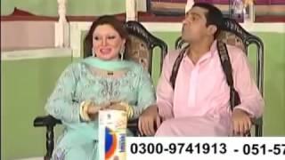 New Stage Drama Khushboo, Nasir Chinyoti, Zafri Khan Best Punjabi Comedy