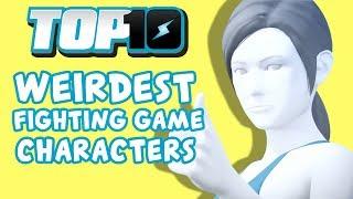 Top 10 Weirdest Fighting Game Characters