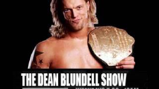 WWE Superstar EDGE Interview 102.1 THE EDGE Dean Blundell Show