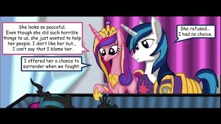 MLP Comic Dub: 'To Bury an Old Foe' (tragedy/dark) - MONTH OF MACABRE COMIC #1