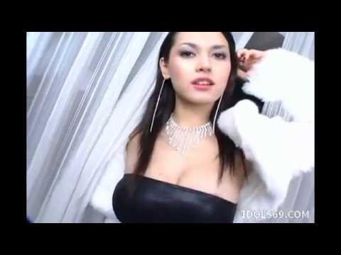 Maria Ozawa in black sexy dress