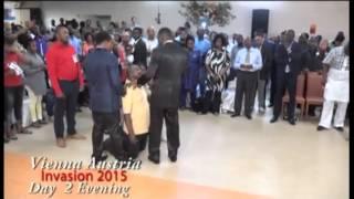 #Apostle Johnson Suleman(Prof) #Prophetic Moment #1of2 #Vienna, Austria Invasion 2015