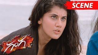 Nitya Menon's Ghost Punished Taapsee - Horror Scene - Ganga Movie Scenes