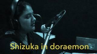 Parul Bhatnagar the voice of Shizuka and many more