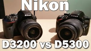 Nikon D3200 vs Nikon D5300