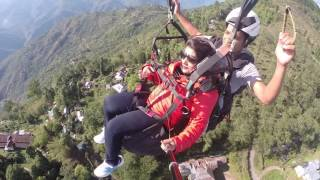 First time paragliding adventure.. at Delo hill.. kalimpong.