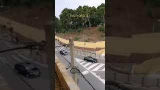 فيديو لموكب المستشارة الألمانية أنجيلا ميركل خلال مروره اليوم عبر شوارع الجزائر العاصمة