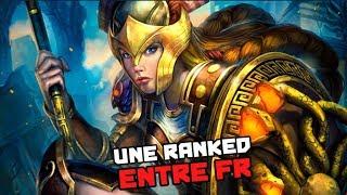 Smite FR - La bonne ranked entre FR : Athena