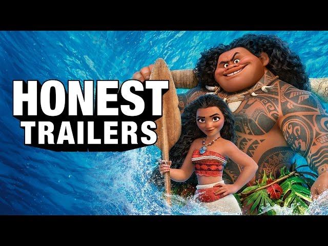 Honest Trailers - Moana