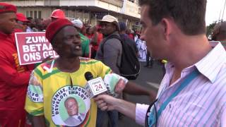 EFF to ANC supporters: 'You are wearing a rapist on your shirt'