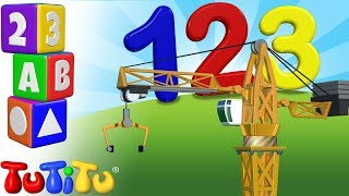TuTiTu Preschool | Learning Numbers for Babies and Toddlers | Crane