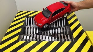 EXPERIMENT Shredding BMW X6 and Toys