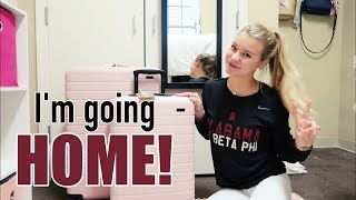 day in my life: flying home to florida! | university of alabama