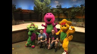 A Day In the Park with Barney Universal Studios Florida 3/22/2017