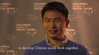 Zhanjie SI (MSW'09) Talks about His Social Work Career Post-CSSW - In Chinese