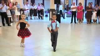 cool kids ballroom dance in a wedding ceremony