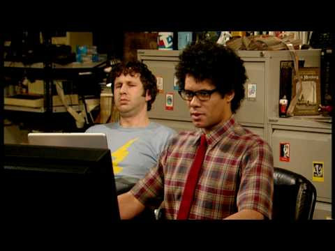 The IT Crowd Series 1 Episode 3 Lonely hearts With Roy and Moss