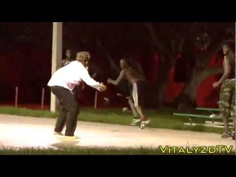 Ataque zombie que provocó horror en un barrio de Miami