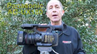 Panasonic AG-UX180 4K Camcorder Review (in 4K)