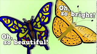 Butterfly  Butterfly!    a song for kids about the butterfly life cycle